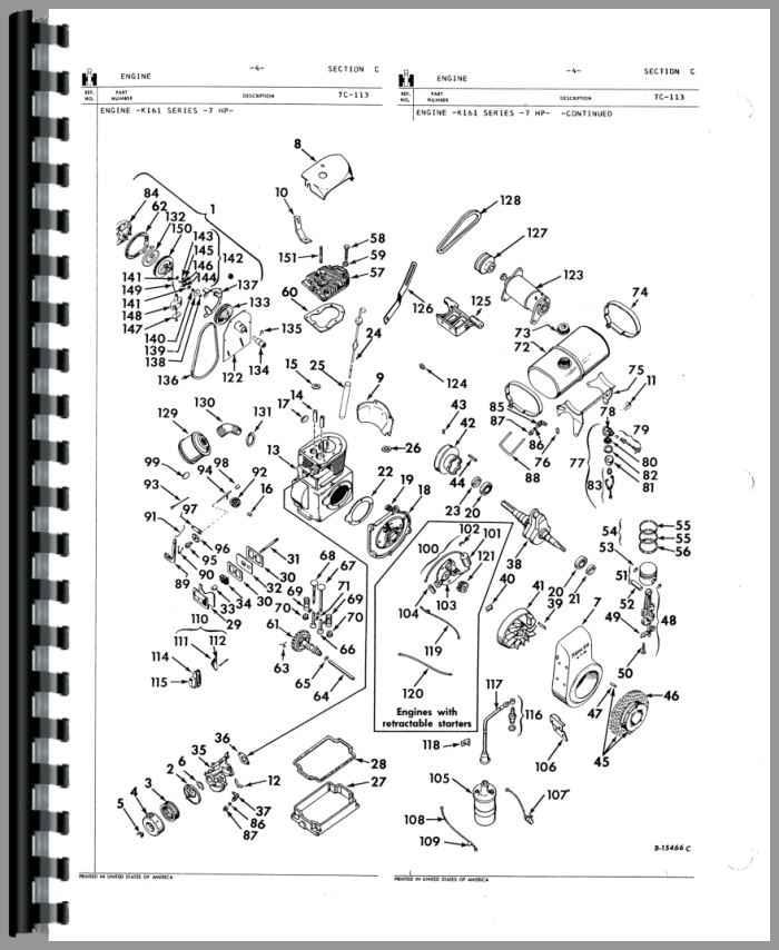 cub cadet lawn tractor parts manual