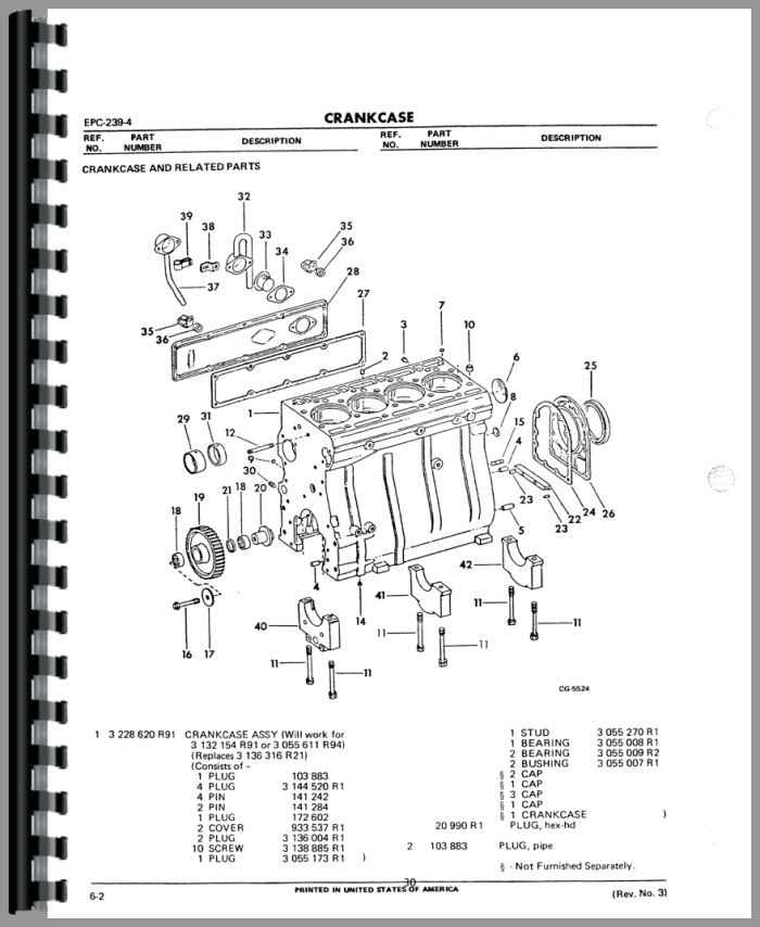 international harvester 304 engine diagram international