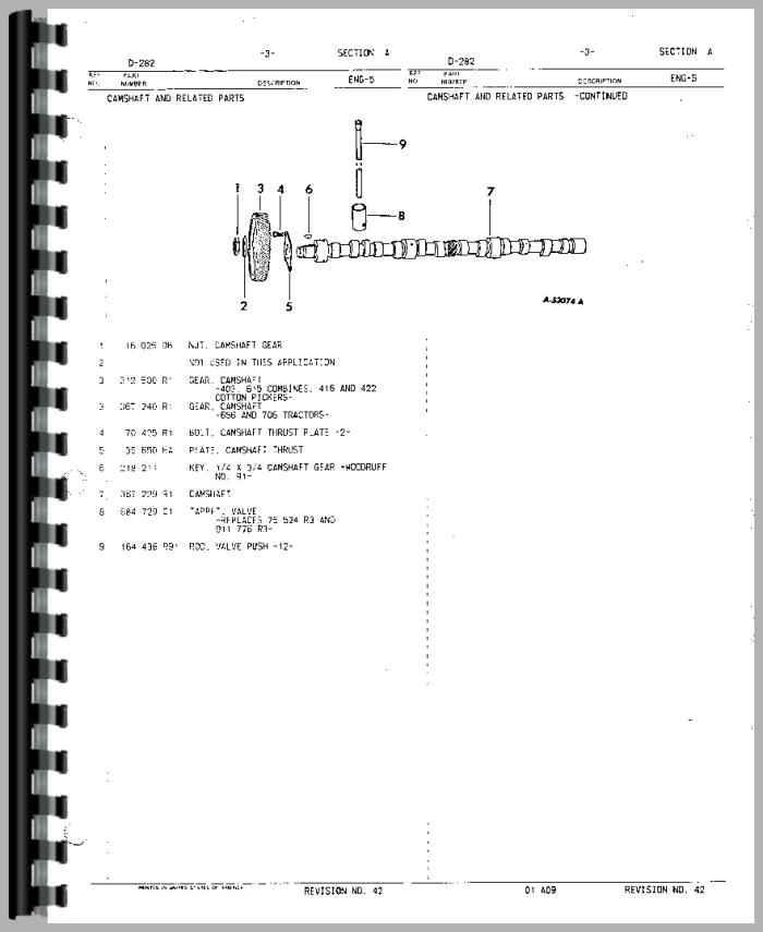 International Harvester DT466 Engine Parts Manual (HTIH-PENG56CYL)