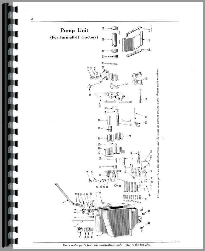 Farmall H Tractor Hydraulic Lift-All Operators Manual (HTIH-OHYDRLIFT)