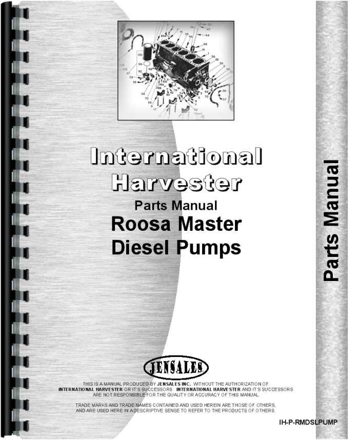 international harvester roosa master injection pump parts manual rh agkits com roosa master injection pump rebuild manual roosa master injection pump rebuild manual
