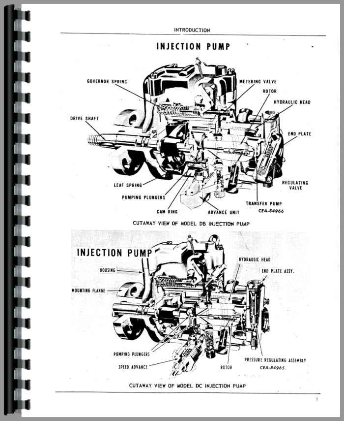 Roosa Master Injection Pump Diagram Manual Guide