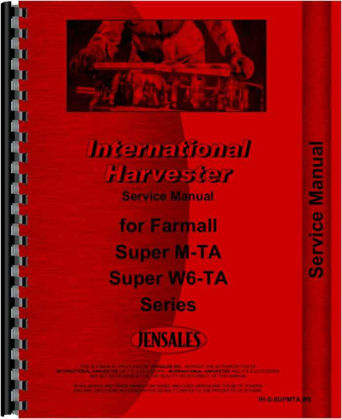 Free Download of IH and other tractor manuals and