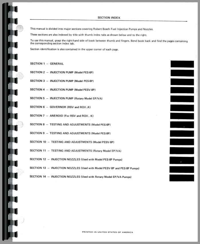 International Harvester V800 Engine Diesel Pump Service Manual  (HTIH-SRBDSLPUM)