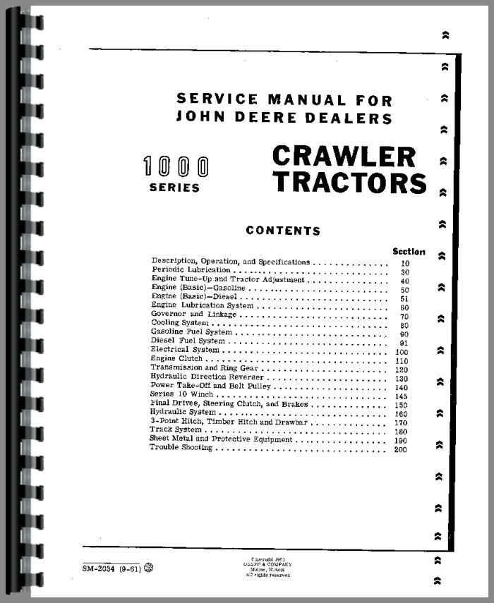 John Deere 1010 Crawler Service Manualrhagkits: John Deere 1010 Parts Diagram At Cicentre.net