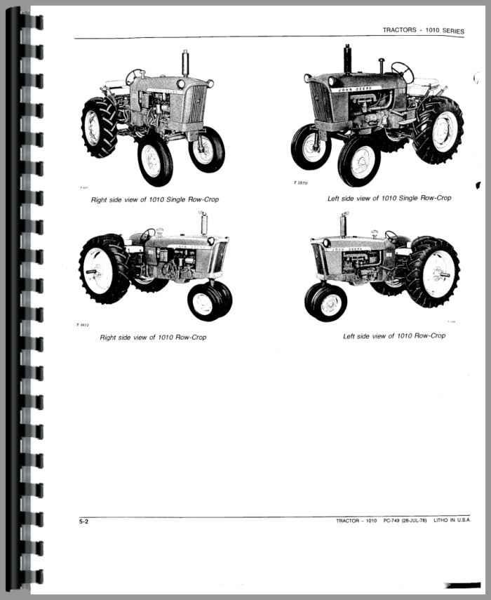 john deere 1010 tractor parts manual rh agkits com John Deere Lawn Tractors john deere 1010 dozer parts manual