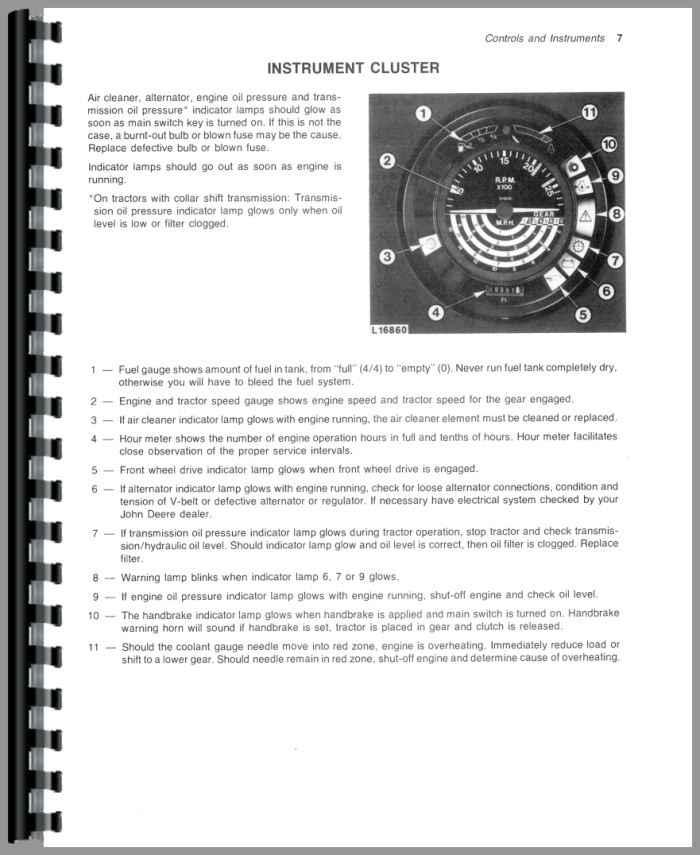 john deere 1040 tractor operators manual rh agkits com john deere 1010 manual pdf john deere 1020 manual