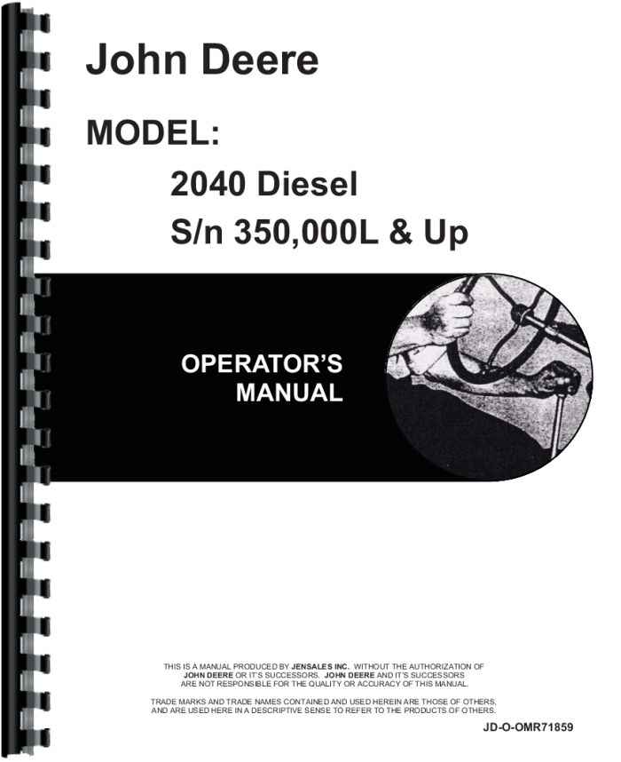 john deere 110 backhoe manual pdf