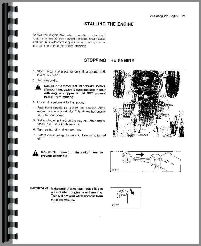 Amazon. Com: john deere 2440 2640 tractor operator manual s/n.