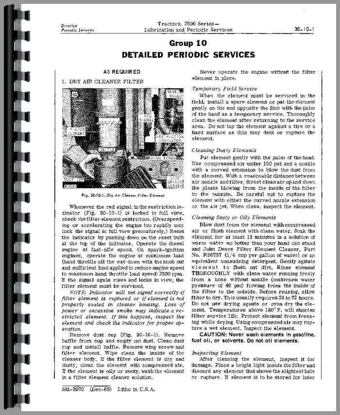 john deere 2510 tractor service manual rh agkits com john deere 2850 workshop manual download john deere 2850 parts manual
