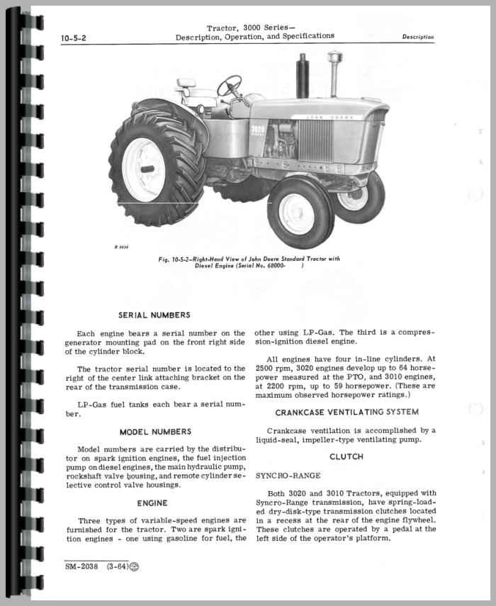 john deere diesel engine schematics john deere 4-254 engine service manual #1