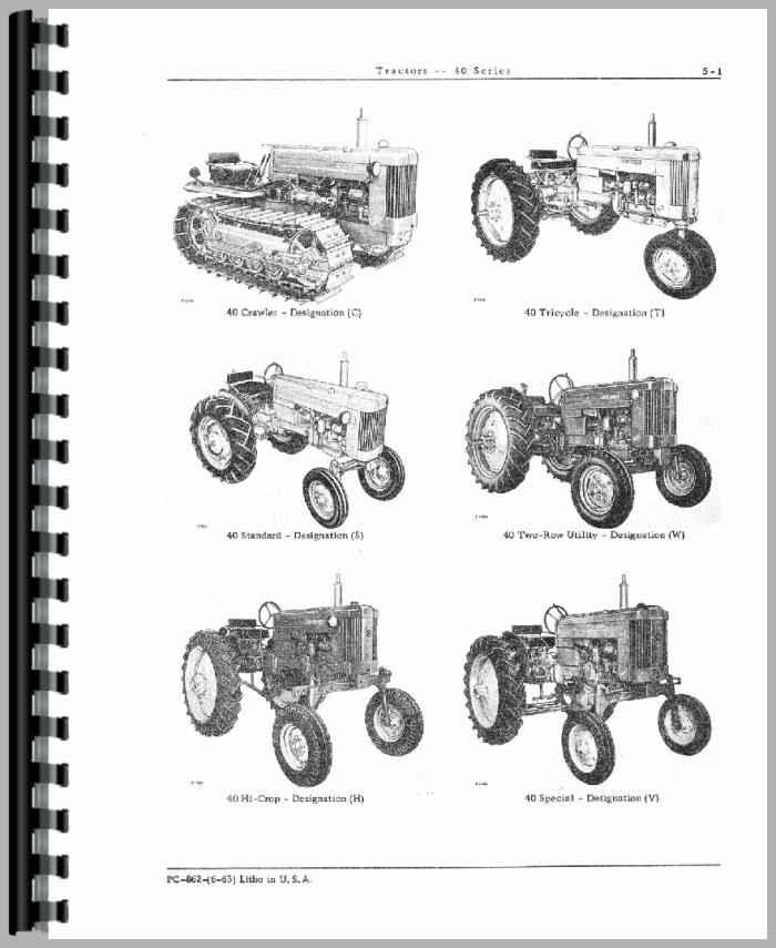 john deere 1130se parts manual