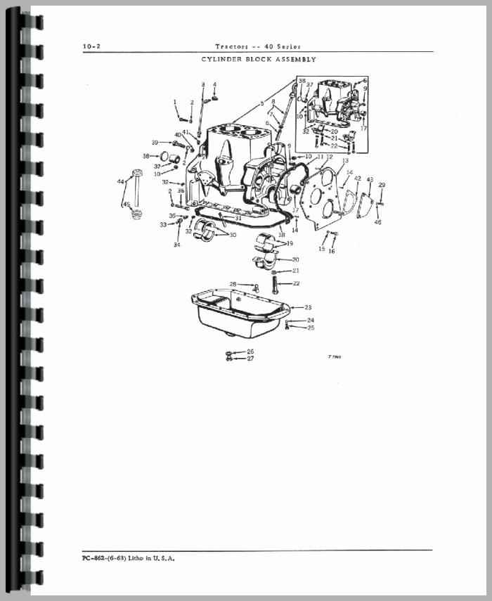 John Deere 40v Tractor Parts Manual Manual Guide