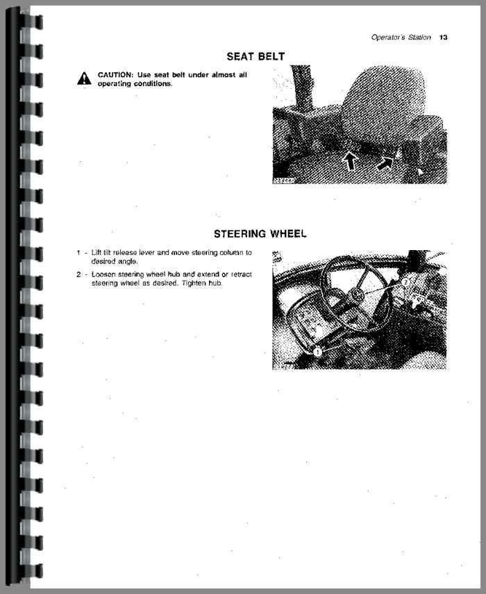 John Deere 4440 Tractor Operators Manual Htjd Oomr65461