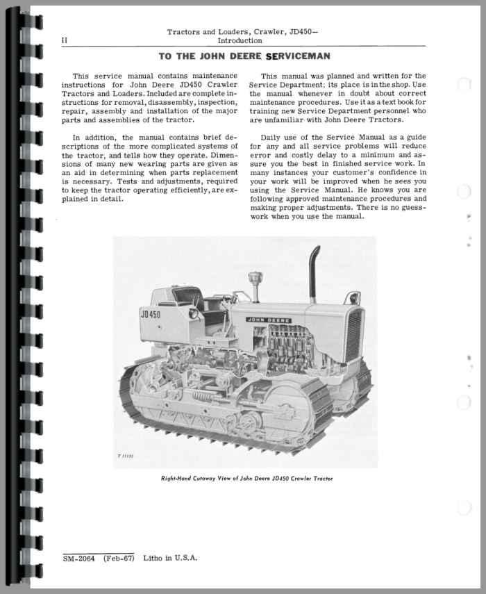 john deere 450 crawler service manual rh agkits com john deere 325 service manual pdf john deere 325 service manual pdf