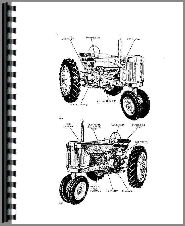 John Deere 50 Tractor Operators Manual Htjd Oomr2033