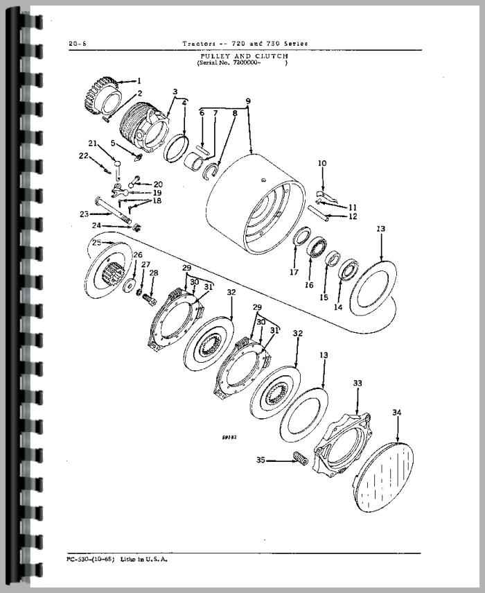 John Deere 730 Tractor Parts Manual – John Deere 730 Engine Diagram