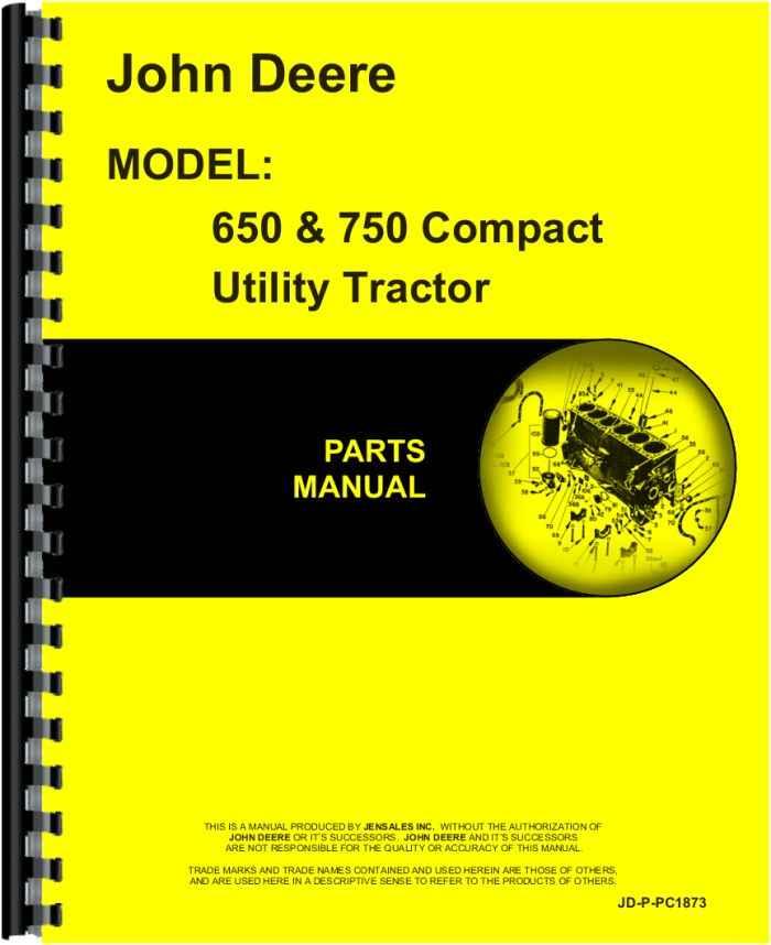 John Deere 750 Tractor Parts Manual Manual Guide