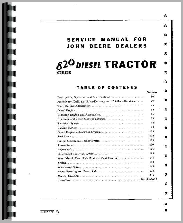JohnDeere 80 Tractor Manual_94020_2__89808 john deere 80 tractor service manual