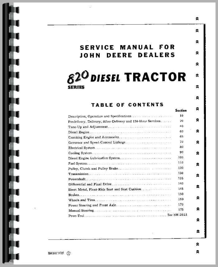 john deere tractor service manual tractor manual tractor manual tractor manual