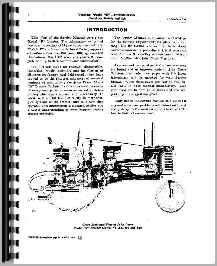 JohnDeere B Tractor Manual_94175_3__66334 john deere b tractor service manual john deere model b diagram at eliteediting.co