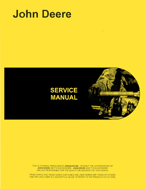 john deere 301 industrial tractor service manual rh agkits com Printable John Deere Manuals online service manuals for john deere tractors