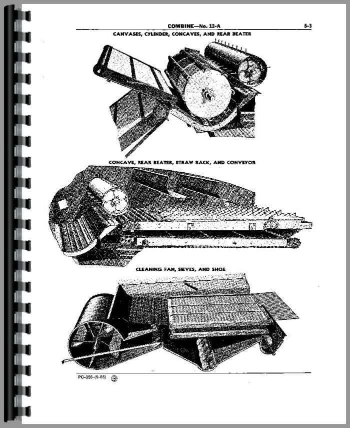 john deere 12a combine parts manual rh agkits com john deere 3300 combine parts manual john deere combine parts manual