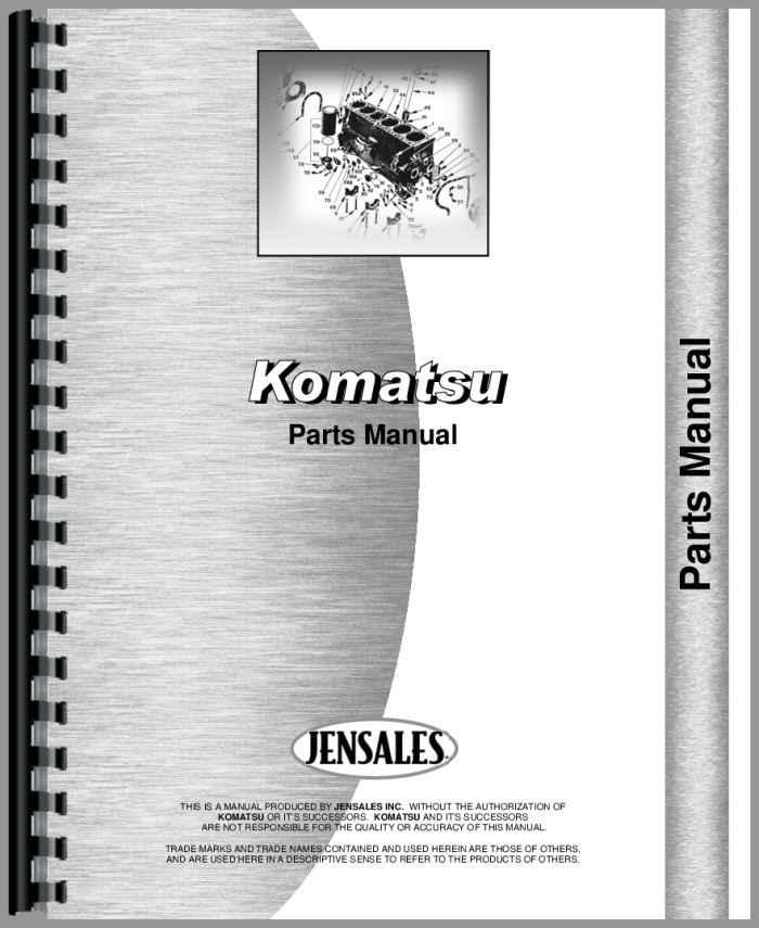 Komatsu Parts Manuals
