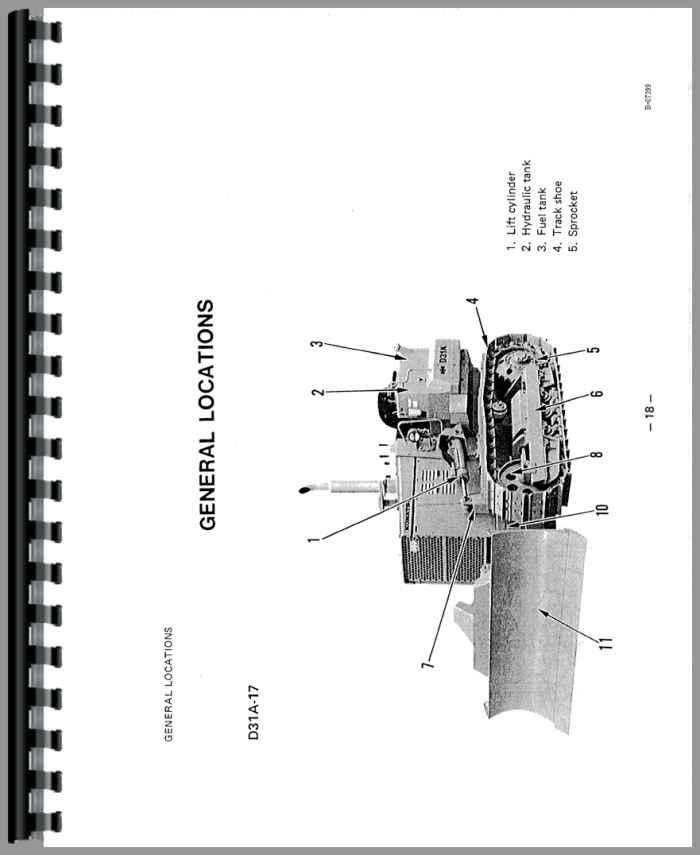 komatsu d31p 17 crawler operators manual rh agkits com D31 Komatsu Dozer Specs Komatsu Dozer Specifications