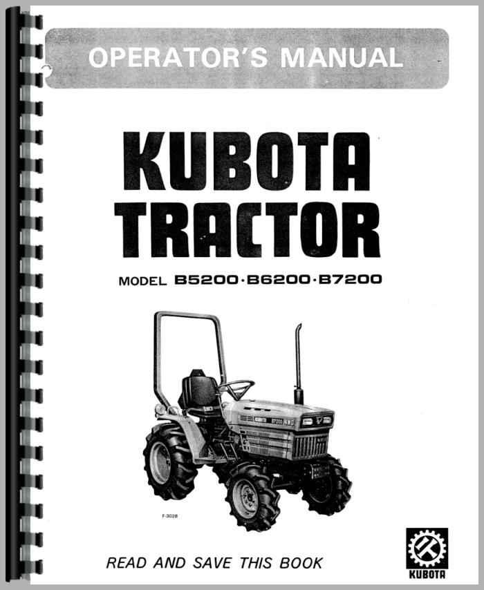 kubota b5200e tractor operators manual rh agkits com kubota operator manual kubota operators manual free downloads