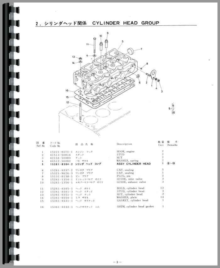 Kubota Tractor Schematics : Kubota b tractor parts manual