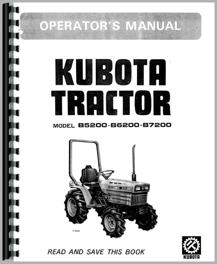 kubota user manual browse manual guides u2022 rh trufflefries co Kubota B7200 Purolator Oil Filter Kubota B7100