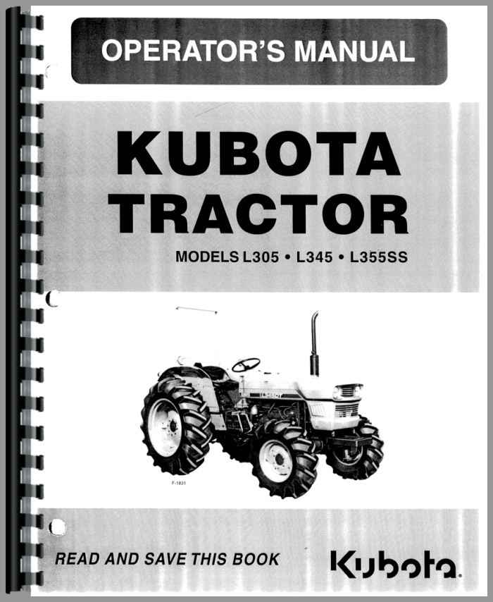 kubota l345 tractor operators manual rh agkits com kubota tractors manual 3010 kubota tractors manual transmission reviews