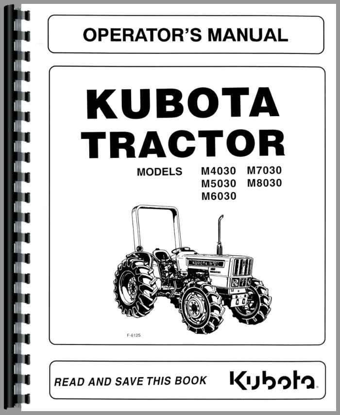 kubota m6030 tractor operators manual rh agkits com kubota tractors manual 3010 kubota tractors manual transmission reviews