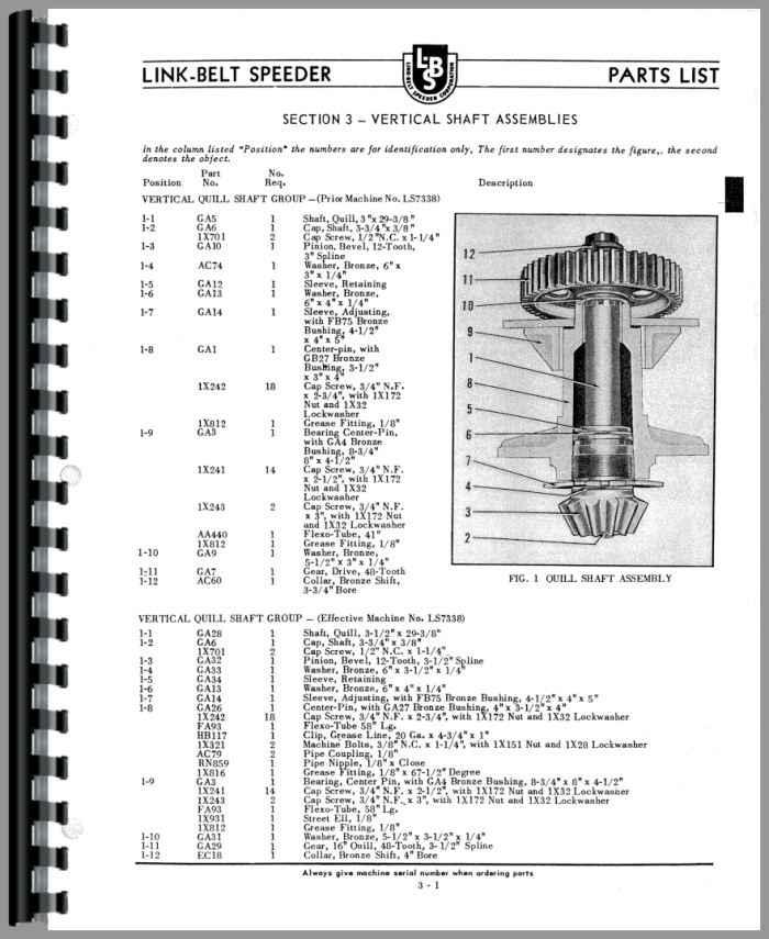 L&s heavy equipment manuals & books for link-belt for sale | ebay.