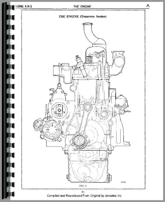Long Backhoe Parts : Long tractor loader backhoe service manual