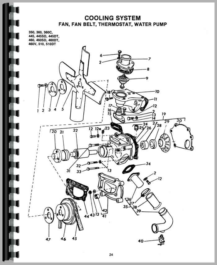 Long Tractor Parts Diagrams Long Free Engine Image For