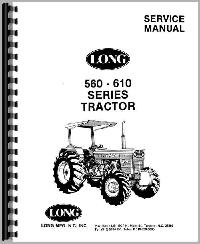long 560 tractor service manual