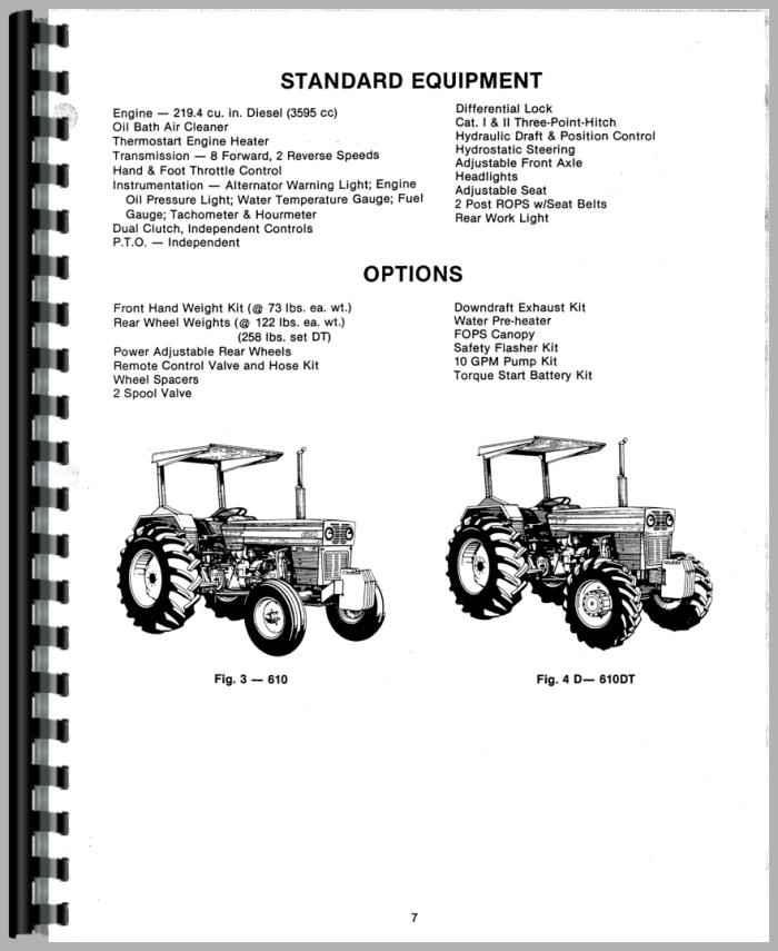 long 610 tractor operators manual tractor manual tractor manual tractor manual