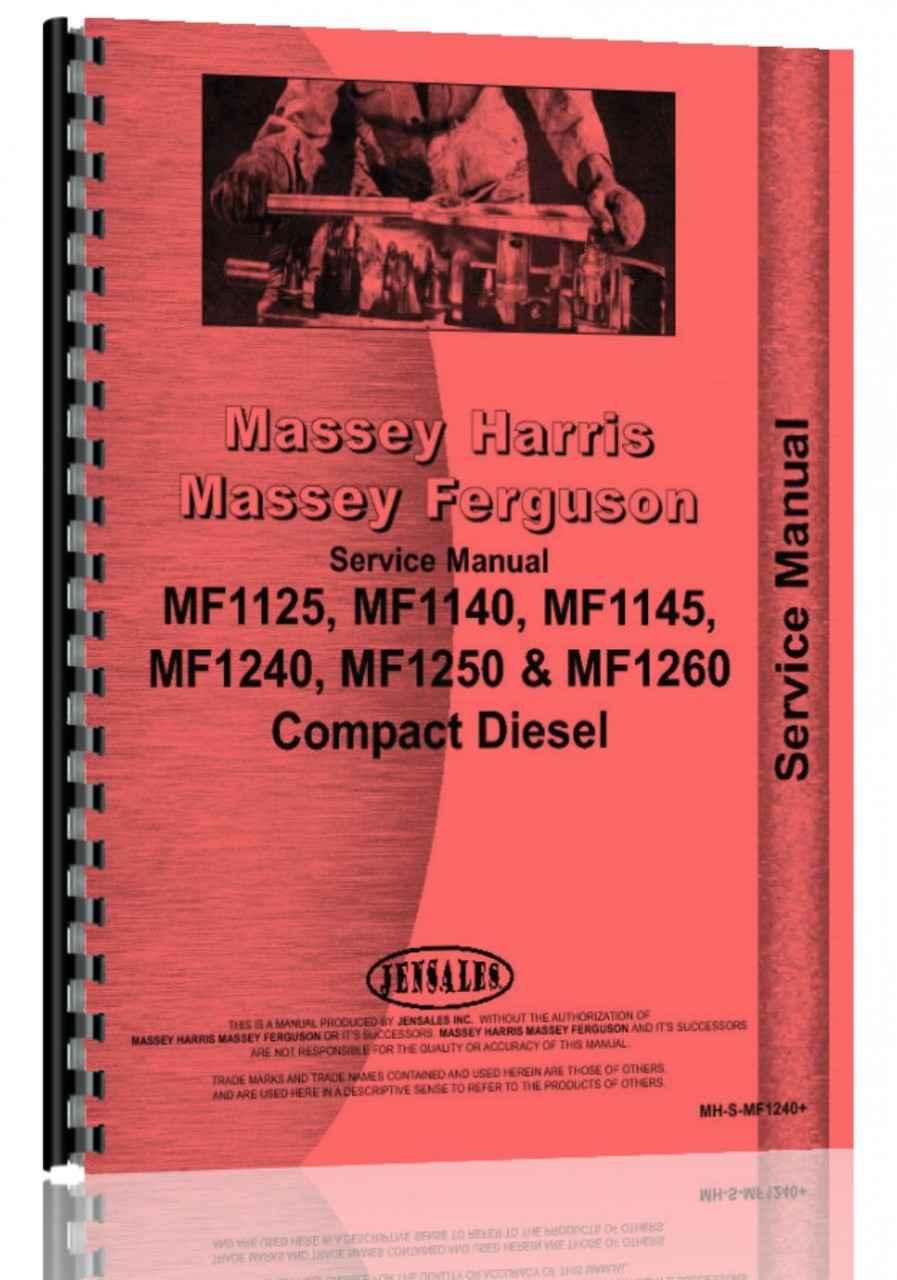 Massey Ferguson 1145 Tractor Service Manual (HTMH-SMF1240)