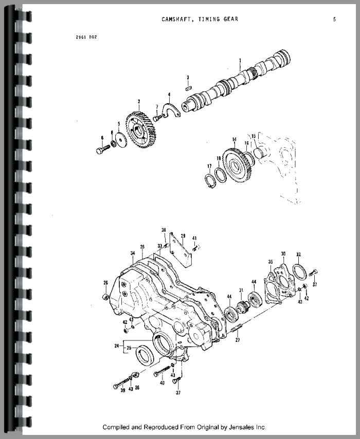 massey ferguson 1010 tractor parts manual rh agkits com massey ferguson 1010 service manual Massey Ferguson 1010 4x4