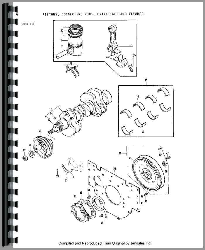 Massey Ferguson 1010 Tractor Parts Manual