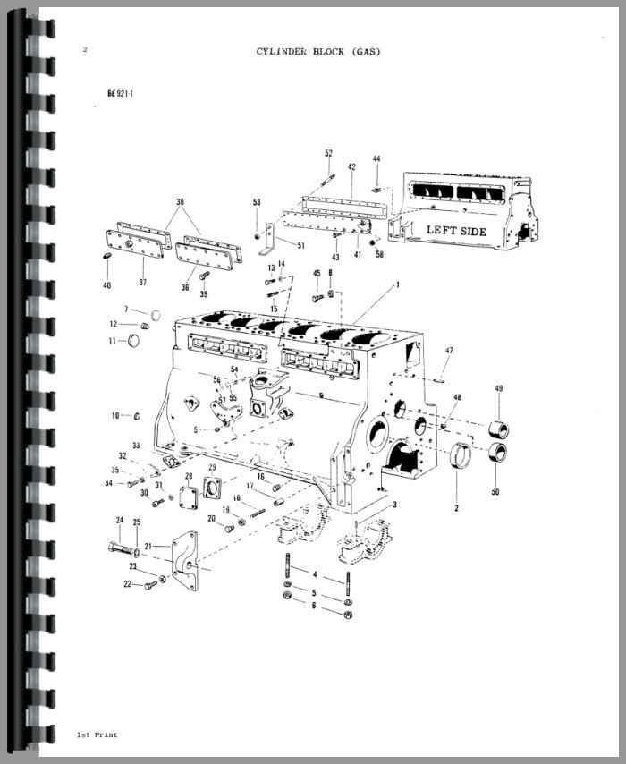 Massey Ferguson 1100 Parts : Massey ferguson tractor parts manual