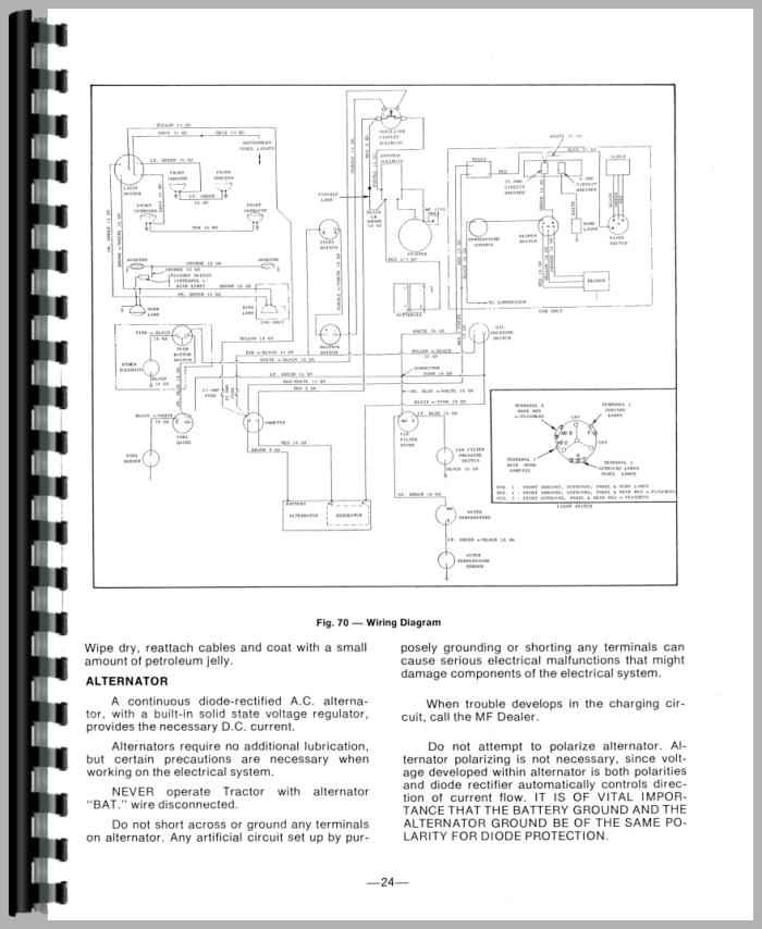 Mey Ferguson To35 Wiring Diagram likewise  on starterwiring wire diagrams easy simple detail baja massey ferguson