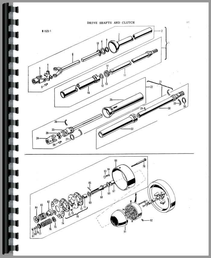 1964 ford tractor 8n diagrams