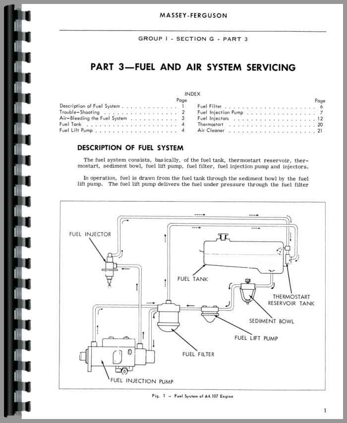massey ferguson 130 tractor service manual rh agkits com massey ferguson 150 manual massey ferguson 130 workshop manual