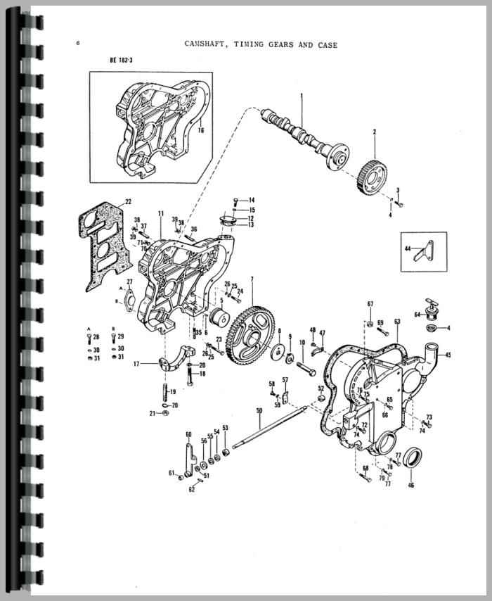 Massey Ferguson 135 Tractor Parts Manual Htmh Pmf135 on massey ferguson 231s tractor parts