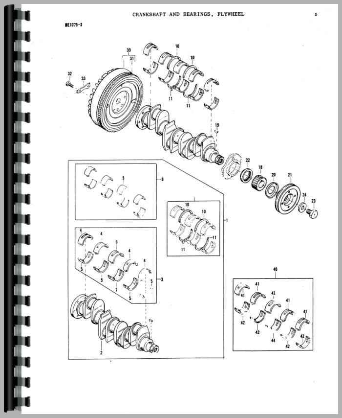 265 massey ferguson tractor steering parts diagram