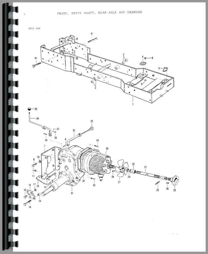 massey ferguson lawn tractor parts diagrams basic guide