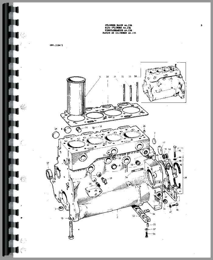 ford 3000 electrical diagram